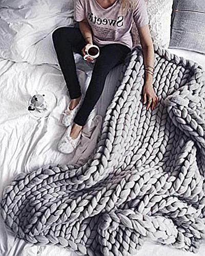 knit body blanket