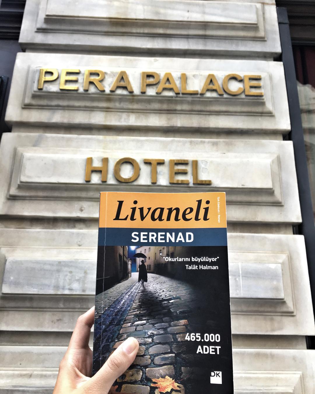 Öncelikle şunu söylemeliyim ki romana İstanbul'da ev sahipliği yapan önemli mekanlardan biri tarihi Pera Palas Otel olduğu için ki