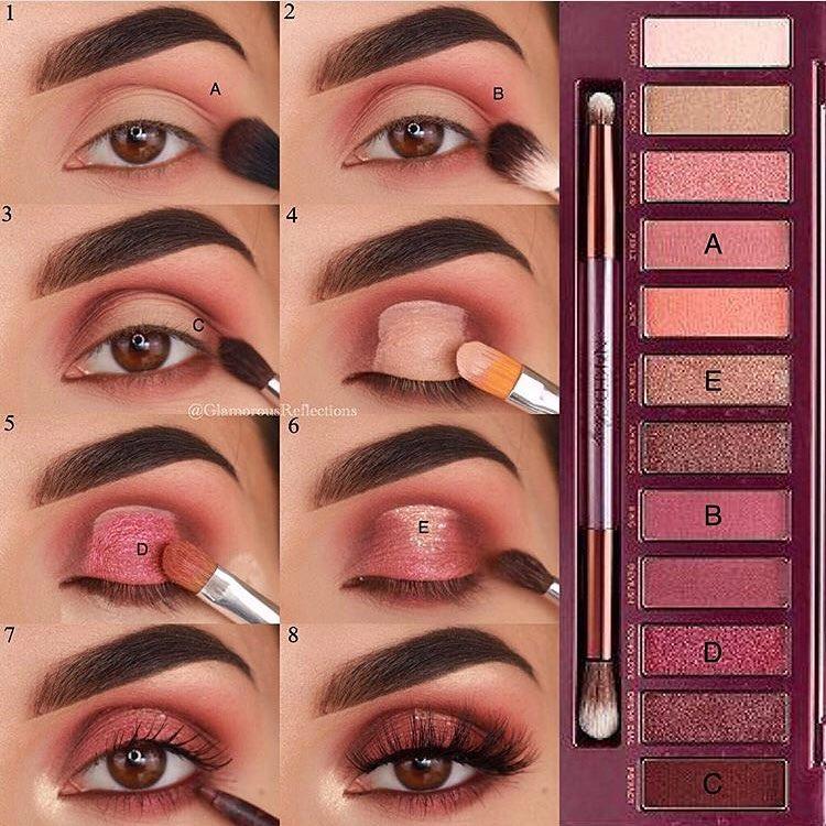 Olha mais um tutorial de olhos para a gente treinar!!! E aí gostaram???? 😍#hairstyle #haircolor #hair #cabelo #moda #dicas #make