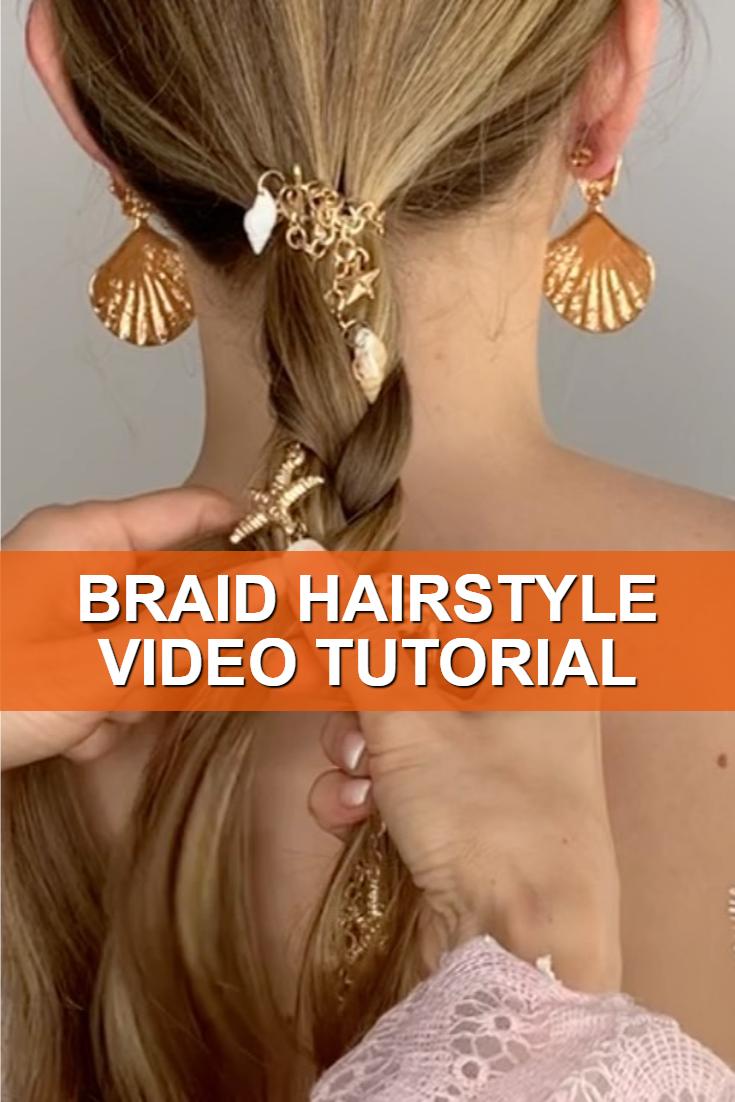 Braid Hairstyle Video Tutorial