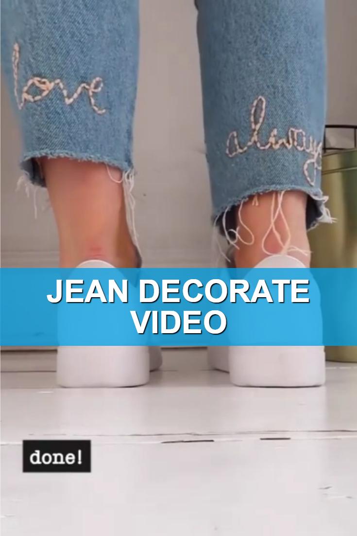 Jean Decorate Video
