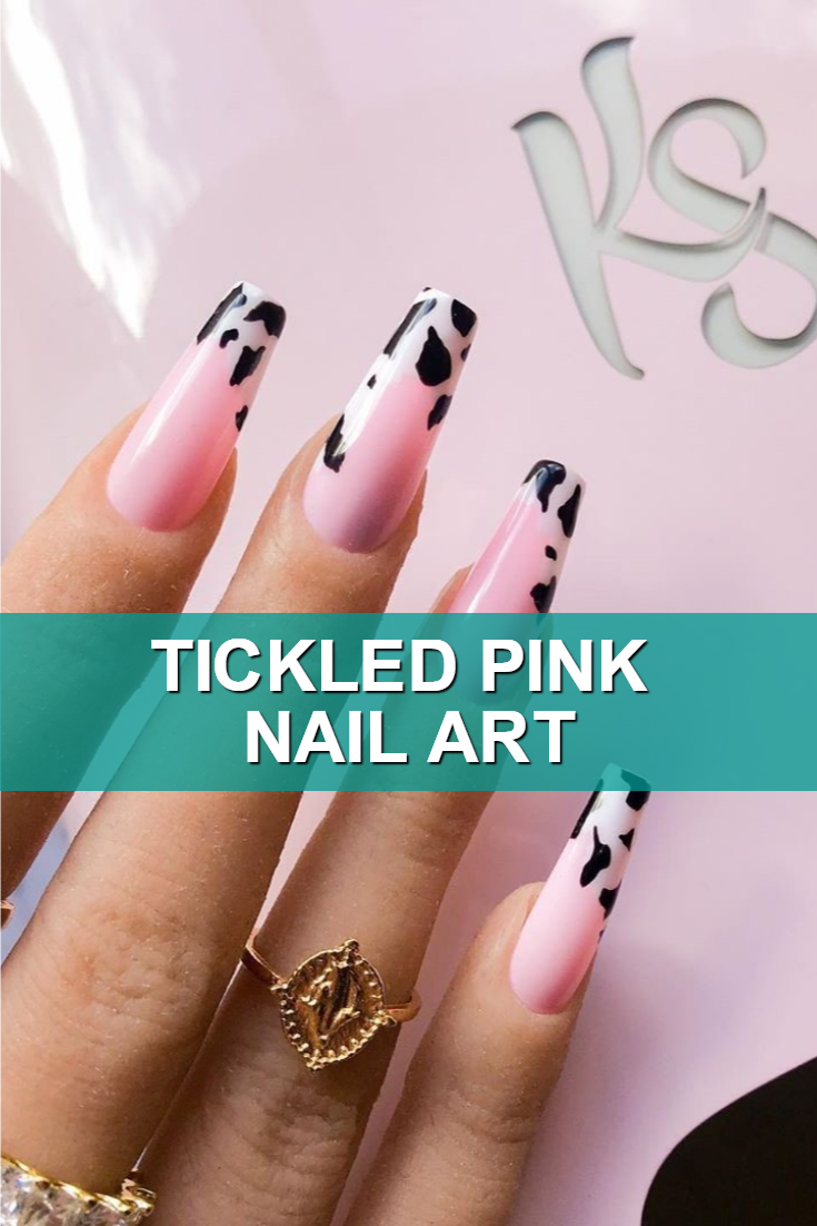 Tickled Pink Nail Art
